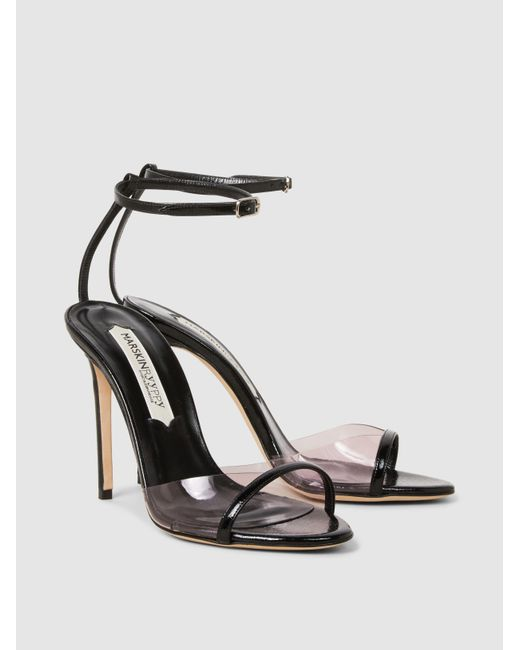 Lacki Leather High Heel Sandals Marskinryyppy vBtzVt