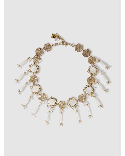 Corte pearl necklace Rosantica RqEC3Pg0