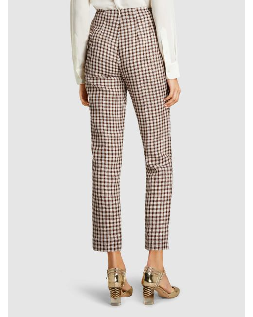 Arabella High-Waist Tapered Trousers Emilia Wickstead rhh8BoD40