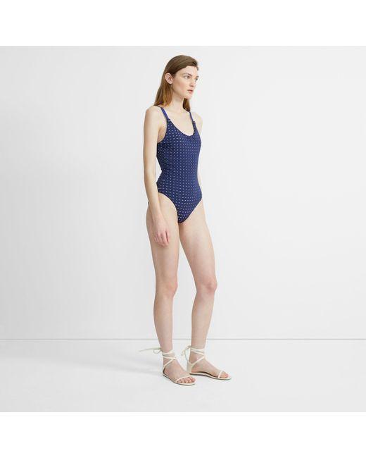 0ef5b91c7a44 ... Theory - Blue Onia X Ginny One Piece Swimsuit - Lyst ...