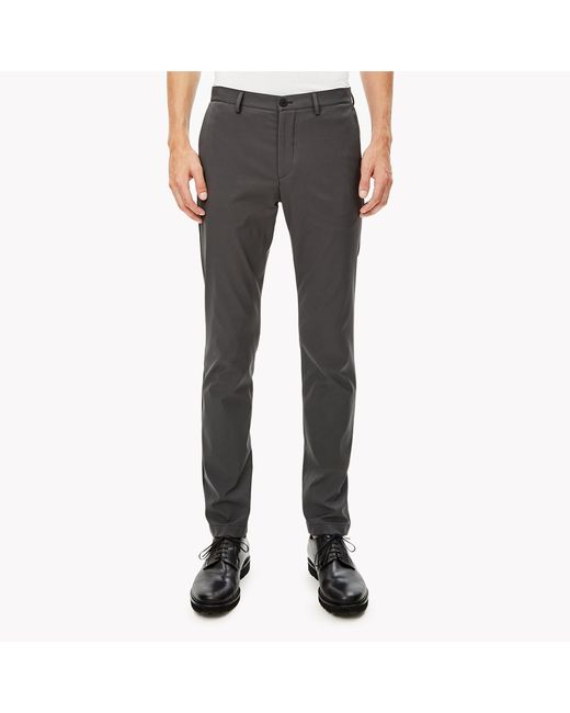 Theory | Gray Stretch Cotton Tee for Men | Lyst