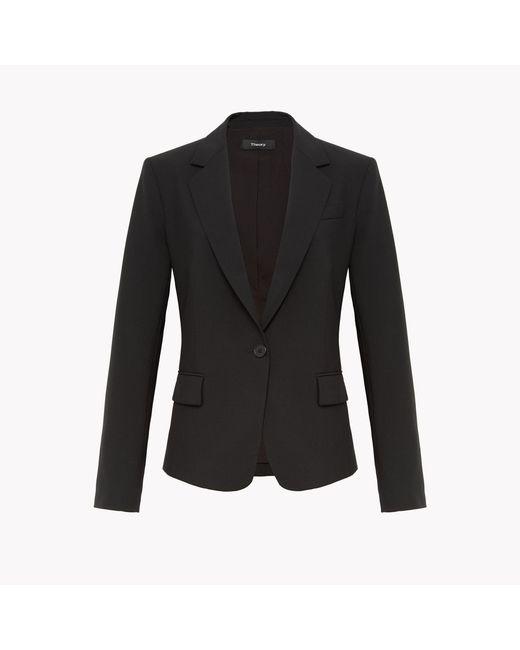 Theory - Black Classic Shirt - Lyst