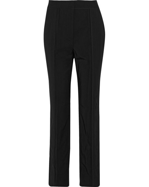 Jason Wu | Black Canvas Straight-leg Pants | Lyst