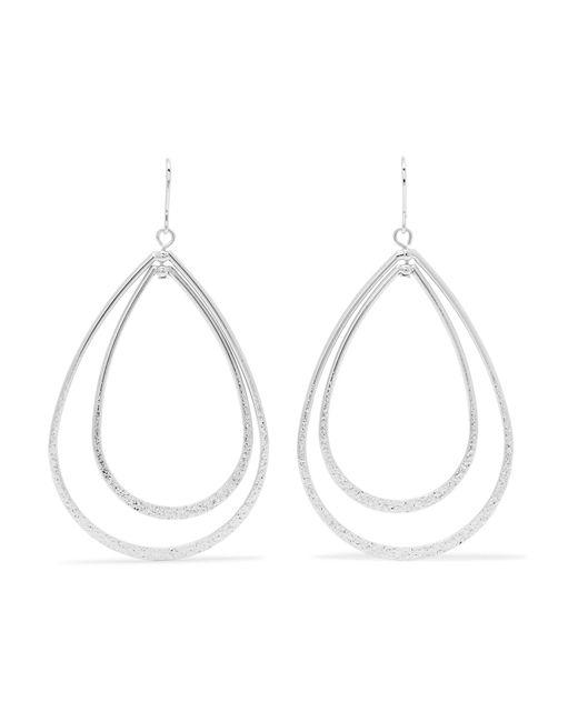 Kenneth Jay Lane | Metallic Silver-tone Earrings | Lyst