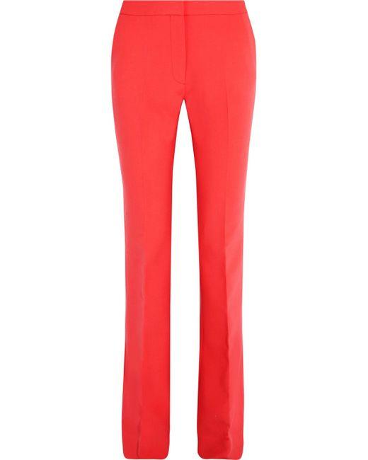 Victoria, Victoria Beckham | Stretch Wool-blend Flared Pants | Lyst