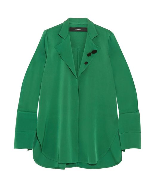 Ellery - Green Long Sleeved - Lyst