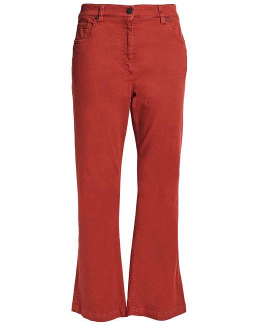Brunello Cucinelli - High-rise Flared Jeans - Lyst