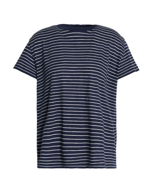 Vince - Blue Striped Pima Cotton Top - Lyst