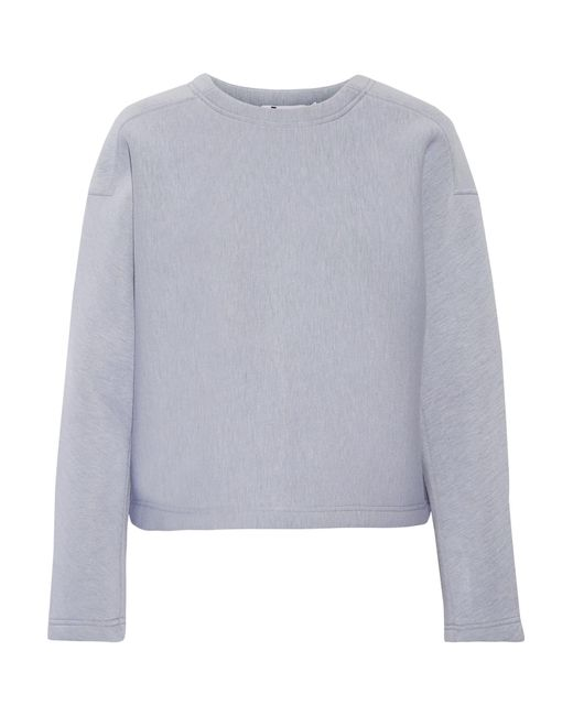 T By Alexander Wang | Blue Scuba Sweatshirt | Lyst