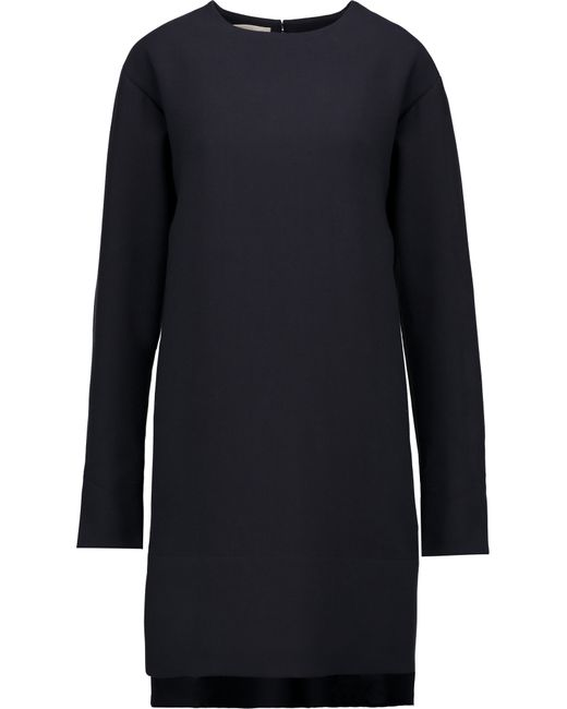 Marni | Blue Wool-crepe Dress | Lyst