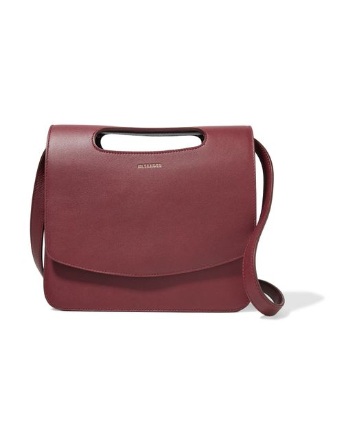 Jil Sander | Multicolor Cutout Leather Shoulder Bag | Lyst