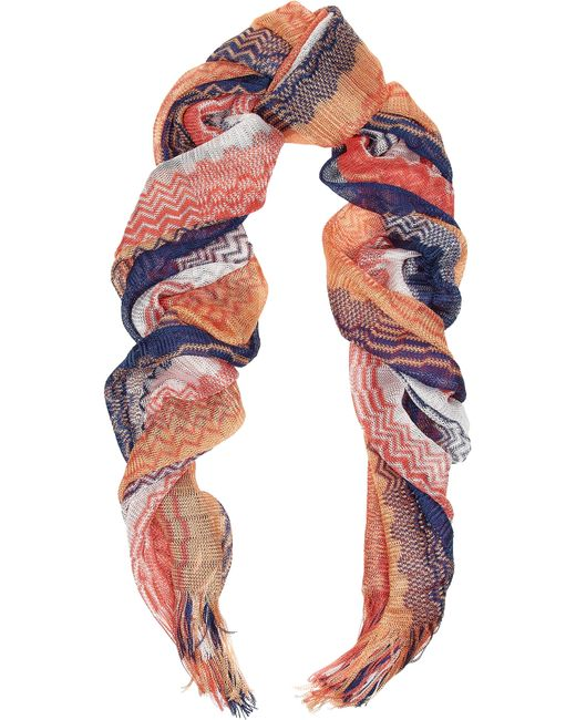 Missoni | Multicolor Crochet-knit Scarf | Lyst