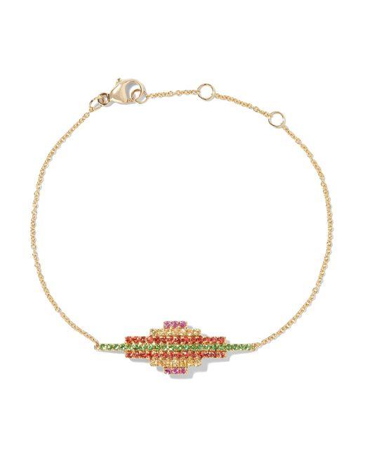 Khai Khai   Metallic 18-karat Gold Diamond Bracelet   Lyst