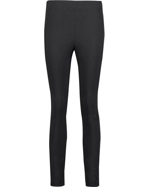 Theory | Black Thaniva Crepe Skinny Pants | Lyst