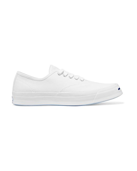 Converse | White Jack Purcell Canvas Sneakers | Lyst