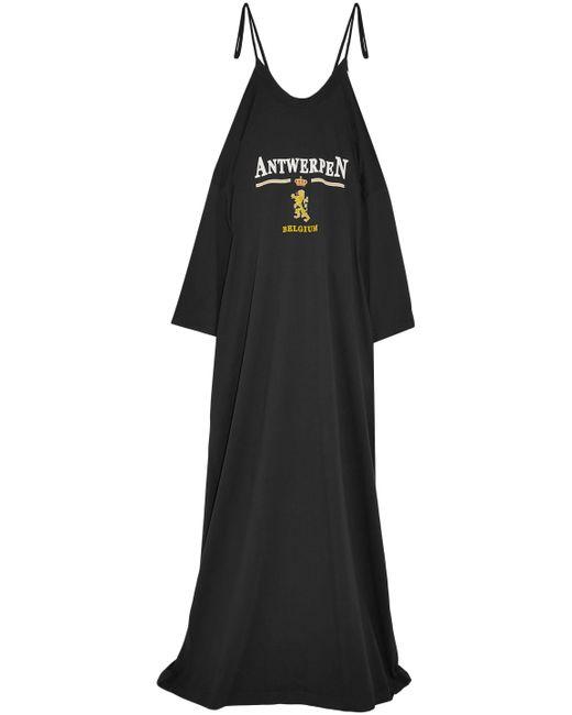 Vetements - Black Antwerpen Maxi Dress - Lyst
