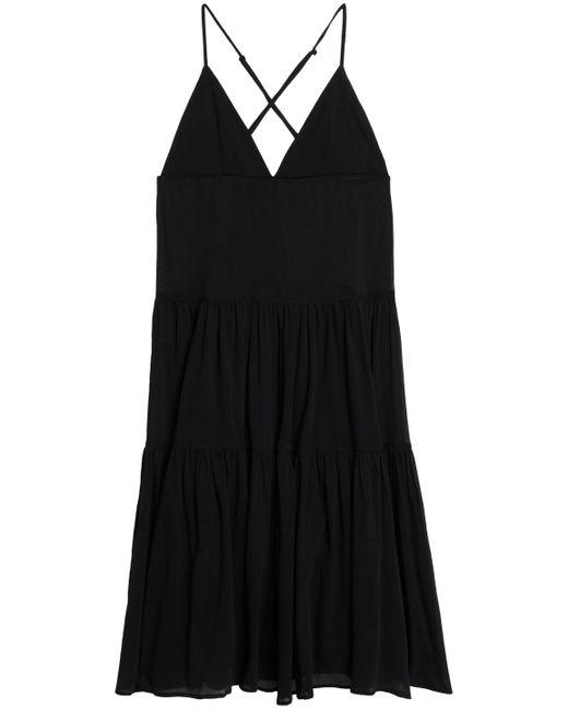 Mara Hoffman - Black Cotton-gauze Dress - Lyst