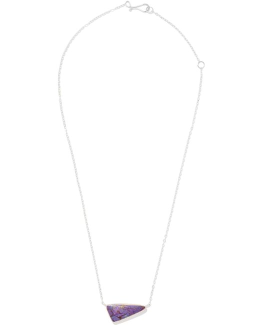 Melissa Joy Manning - Metallic 14-karat Rose Gold, Sterling Silver And Stone Necklace - Lyst