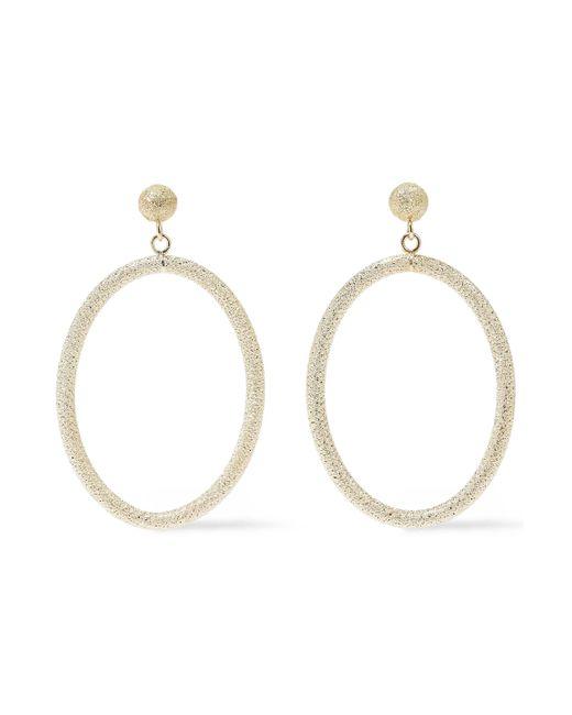 Carolina Bucci - Metallic Gypsy 18-karat Gold Hoop Earrings - Lyst