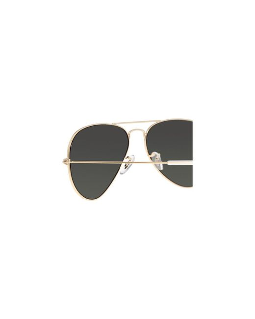 7e7c5371964fe ... Ray-Ban - Metallic Aviator Classic Rb3025 001 58 Gold With Green  Polarized Lenses ...