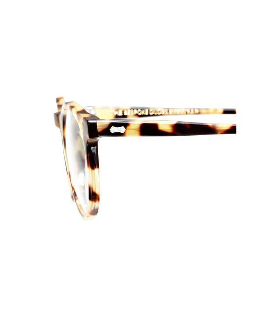 2023cfdfce ... The Bespoke Dudes Eyewear - Pleat Light Tortoiseshell Acetate Bottle  Green Lens Sunglasses for Men ...
