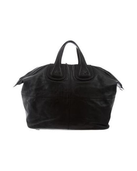 Givenchy - Metallic Nightingale Shopper Tote Black - Lyst ... 6d5dce84b718d