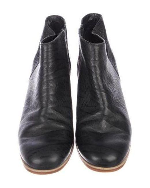 57d7e4972a6e ... Rachel Comey - Black Leather Ankle Boots - Lyst ...