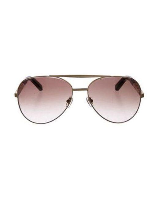 b7877aa7a6cc Louis Vuitton - Metallic Attitude Aviator Sunglasses Brass - Lyst ...