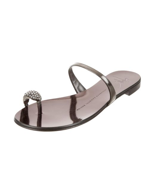 clearance new Giuseppe Zanotti Embellished Slide Sandals w/ Tags pre order sale online best seller cheap online bm1Y0CZ