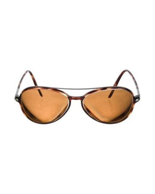 f0d6534568 Tom Ford - Metallic Tinted Max Sunglasses Brown - Lyst ...