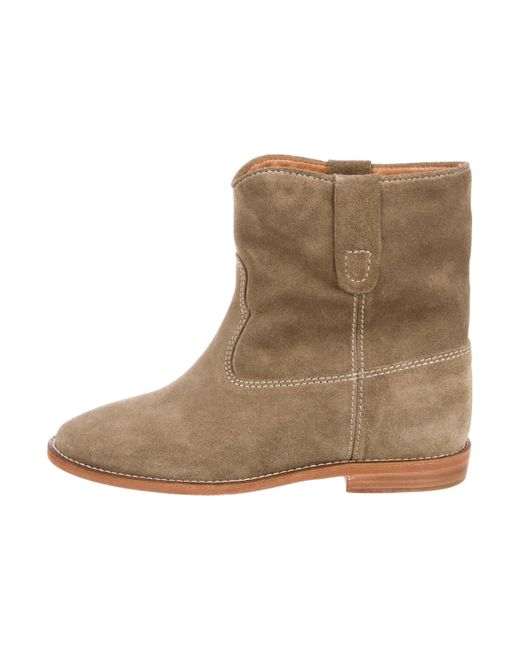 Isabel Marant Crisi Suede Ankle Boots w/ Tags free shipping for cheap buy online outlet get authentic shop offer for sale KTNRVS