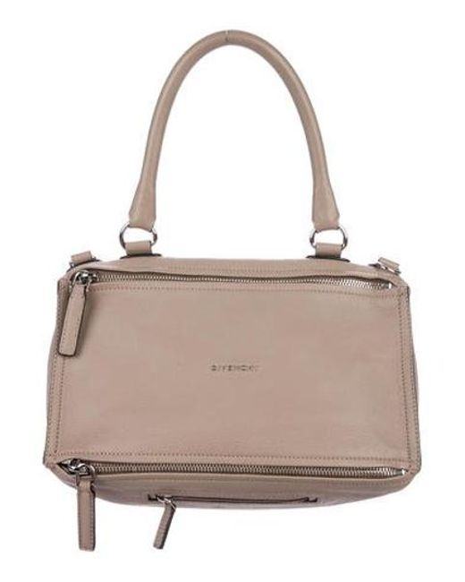 9e0aeaf9a1c Givenchy - Metallic Medium Pandora Satchel Silver - Lyst ...