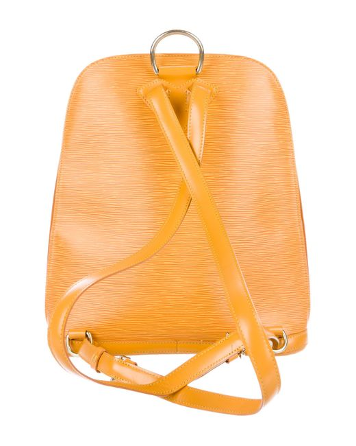cd6bc84f060f Lyst louis vuitton epi gobelins backpack yellow in yellow jpeg 520x650 Louis  vuitton yellow epi gobelins