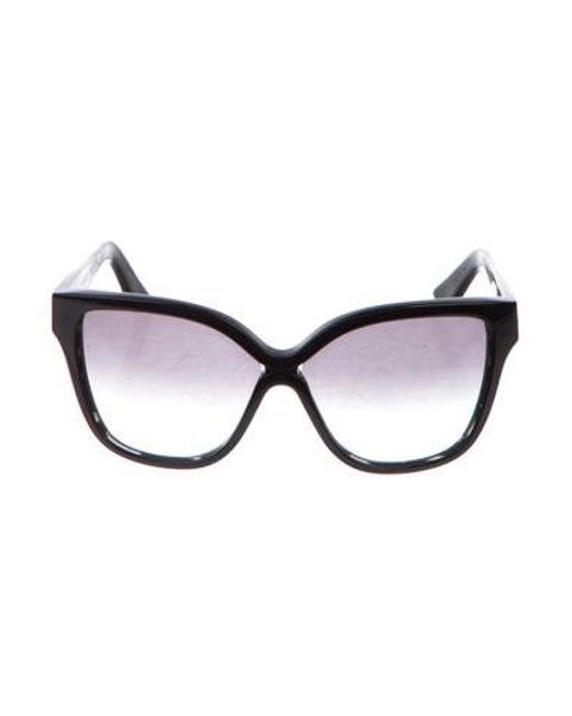 94cd25d0b3f2 Dita - Black Gradient Oversize Sunglasses - Lyst ...