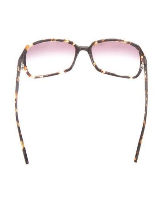 805c8e3b6a9 ... Oliver Peoples - Yellow Candice Tinted Sunglasses Brown - Lyst ...