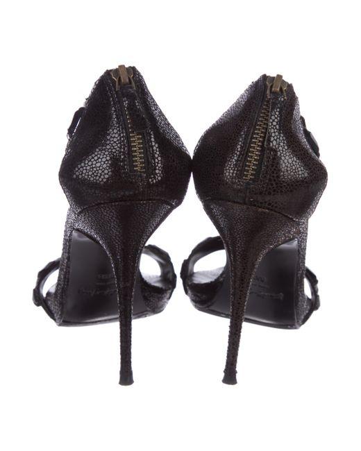 Elizabeth and James Embossed Embellished Sandals top quality svWMoLTs