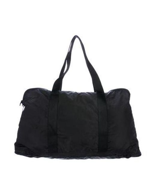 ... Adidas By Stella McCartney - Black Nylon Yoga Bag - Lyst 87f07925e78bf