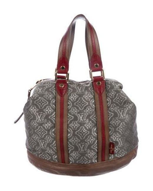4ed2eec1bb4 Louis Vuitton - Gray 2010 Monogram Aviator Bag Grey - Lyst ...