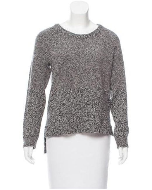 ebe4abca0d3 Rag   Bone - Gray Wool-alpaca Blend Sweater Grey - Lyst ...