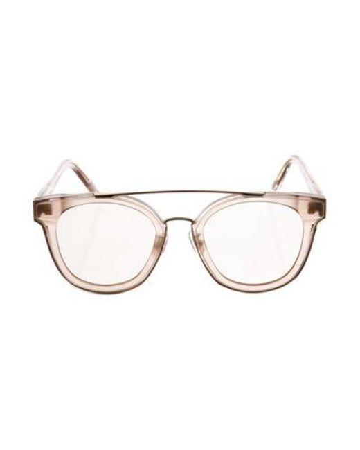 0cb59d02d9 Gentle Monster - Metallic Tilda Swinton X Translucent Newtonic Sunglasses  Rose - Lyst ...