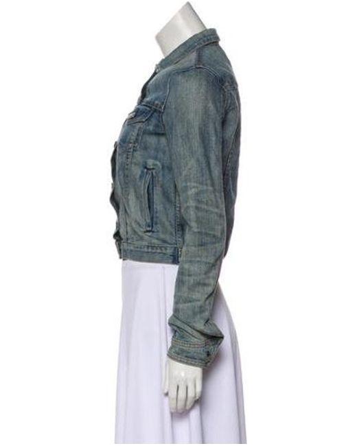 80658266f49 Rag   Bone - Blue Button-up Denim Jacket - Lyst ...