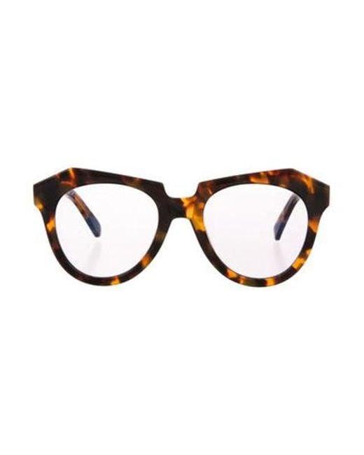 1e3549503f3d Karen Walker - Natural Number One Tinted Sunglasses Brown - Lyst ...