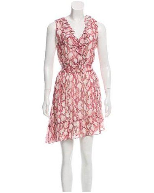 b122a048d82 Rachel Zoe - Silk Lyle Dress W  Tags Multicolor - Lyst ...