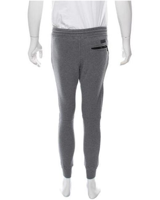 74c0c46bdcf8 ... Belstaff - Gray Cropped Woven Joggers Grey for Men - Lyst