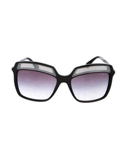 Chanel - Black 2017 Square Fall Sunglasses - Lyst