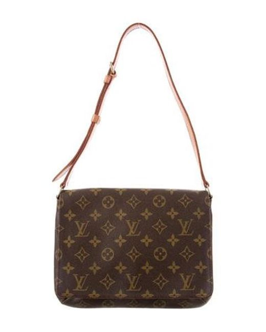 Louis Vuitton - Natural Monogram Musette Tango Bag Brown - Lyst ... 143fd898362ad