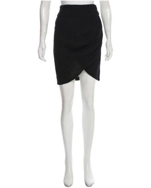 c5b2153de5 Elizabeth and James - Black Fitted Mini Skirt - Lyst ...