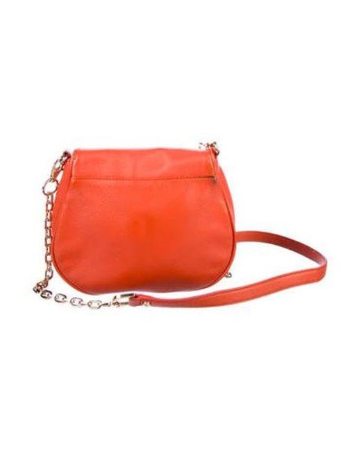 5d2f481aceb ... Tory Burch - Metallic Amanda Crossbody Bag Terracotta - Lyst
