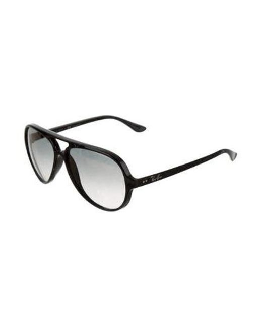 97a37d1a692 ... Ray-Ban - Black Polarized Cats 5000 Sunglasses - Lyst ...