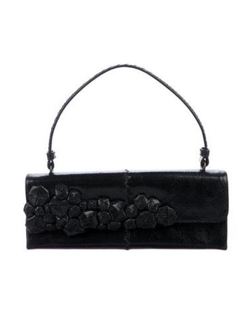 141058641d Bottega Veneta - Black Karung Shoulder Bag - Lyst ...